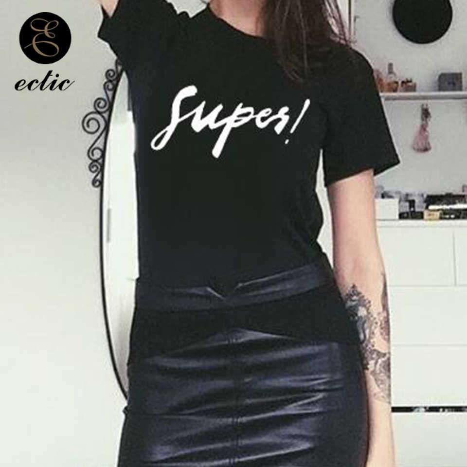 5724eb249 ... Plain White Black T Shirt Women Casual Summer Tshirts Cotton Short  Sleeve Vetement Femme 2019 Supes