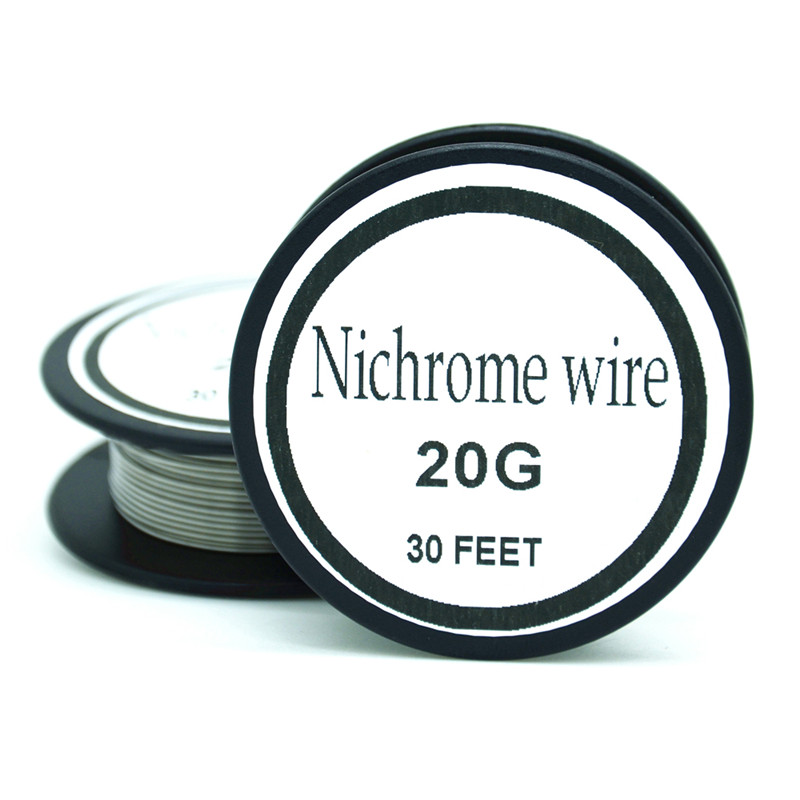 Nichrome wire 20 gauge 25 ft 08mm cantal resistance resistor awg in nichrome wire 20 gauge 25 ft 08mm cantal resistance resistor awg in cable winder from consumer electronics on aliexpress alibaba group greentooth Image collections