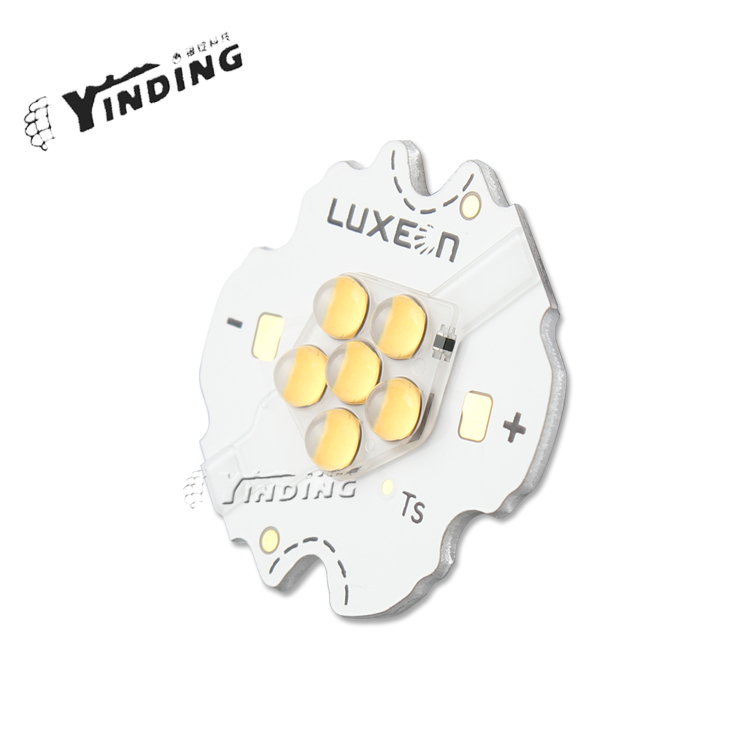 1pcs Lumileds LUXEON K4 Neutral White 4000K 10W Hight Power LED Emitter Blub Lamp Light  LED Chip with PCB Heatsink eipleds 45mil 3w 190lm 5600k neutral white led lamp bead silver white 50 pcs