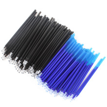 20 pcs / set Office Gel Pen Erasable Refill Magic Stick 0.5mm Blue Ink Stationery Writing School Tool Presen