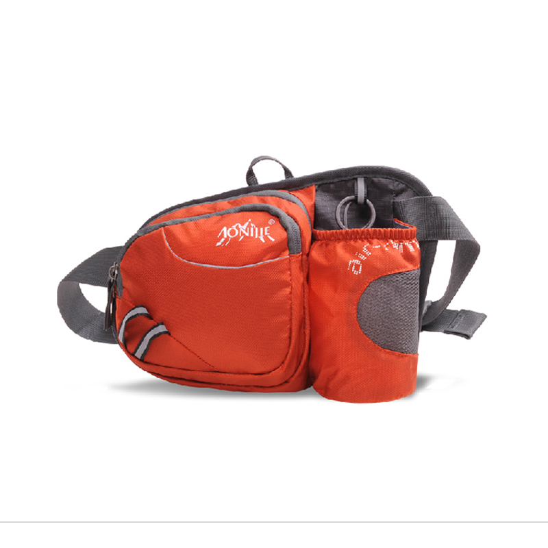 AONIJIE Lelaki Wanita Light Running Bag Sukan luar Camping Hiking Kettle pinggang Pack Mobile Phone Hip Bag Hydration Belt