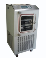 LGJ 10F electrically heated freeze dry machine / intermittent ordinary freeze drying machine / freeze dryer plant