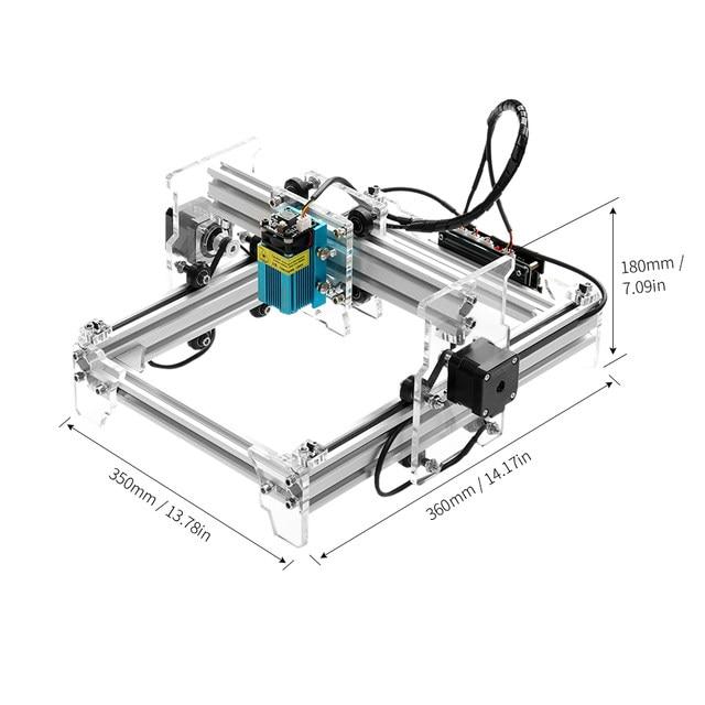 Online Shop Cnc Router Laser Cutter A5 Pro 2500mw Desktop Usb Laser