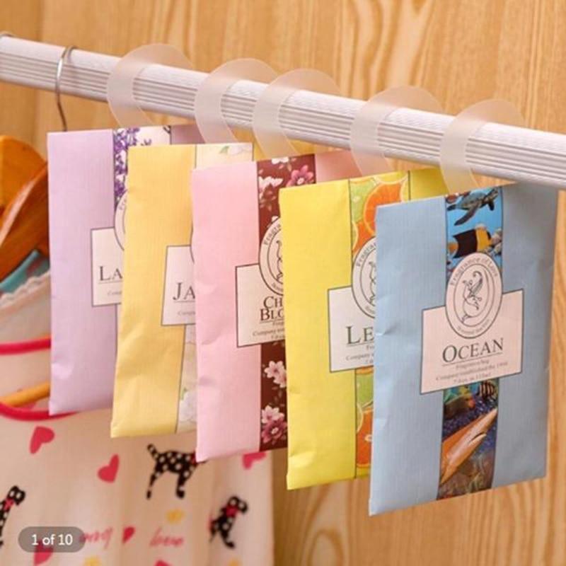 New Paper Bag Sachet Cupboard Car Wardrobe Can Be Hanged Deodorant Sachet Bag Home Air Freshener