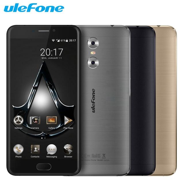 Original Ulefone Gemini Cell Phone 3G RAM 32G ROM MT6737T Quad Core 5.5 inch Android 6.0 Dual Camera 4G LTE Unlock Smartphone