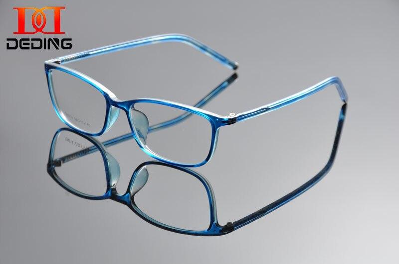 b69b7a8c6e DeDing Women s Fashion Clear Lens Round Circle Eye Glasses Thin Plastic Frame  Clear Lens Multi colored Glasses 52 17 140 DD1294-in Eyewear Frames from ...