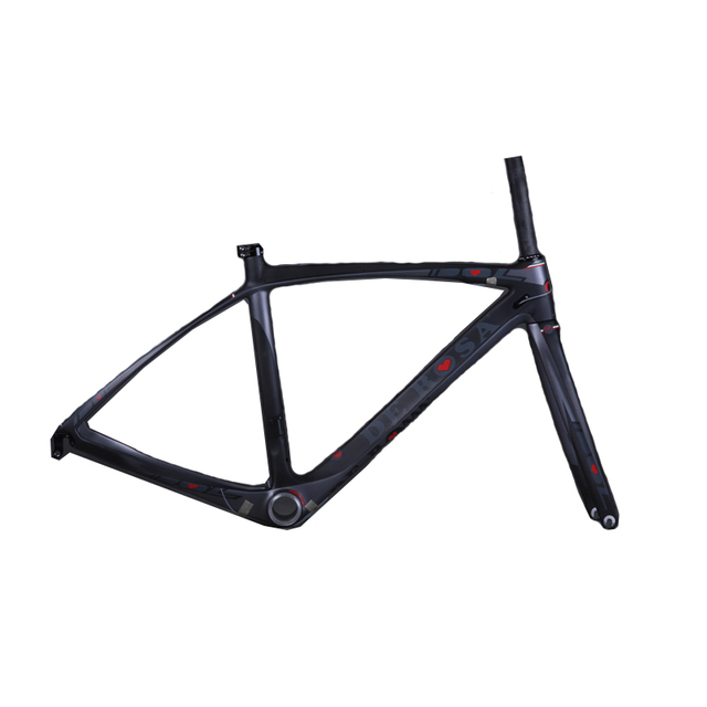 Cheap Carbon Road Bicycle Frame Bike frame carbon road frame 52.9 Free Shipping By EMS