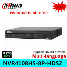 Cost Effective Dahua 6MP Network Video Recoder  NVR4108HS-8P-HDS2  8CH NVR Support ONVIF CGI Conformant