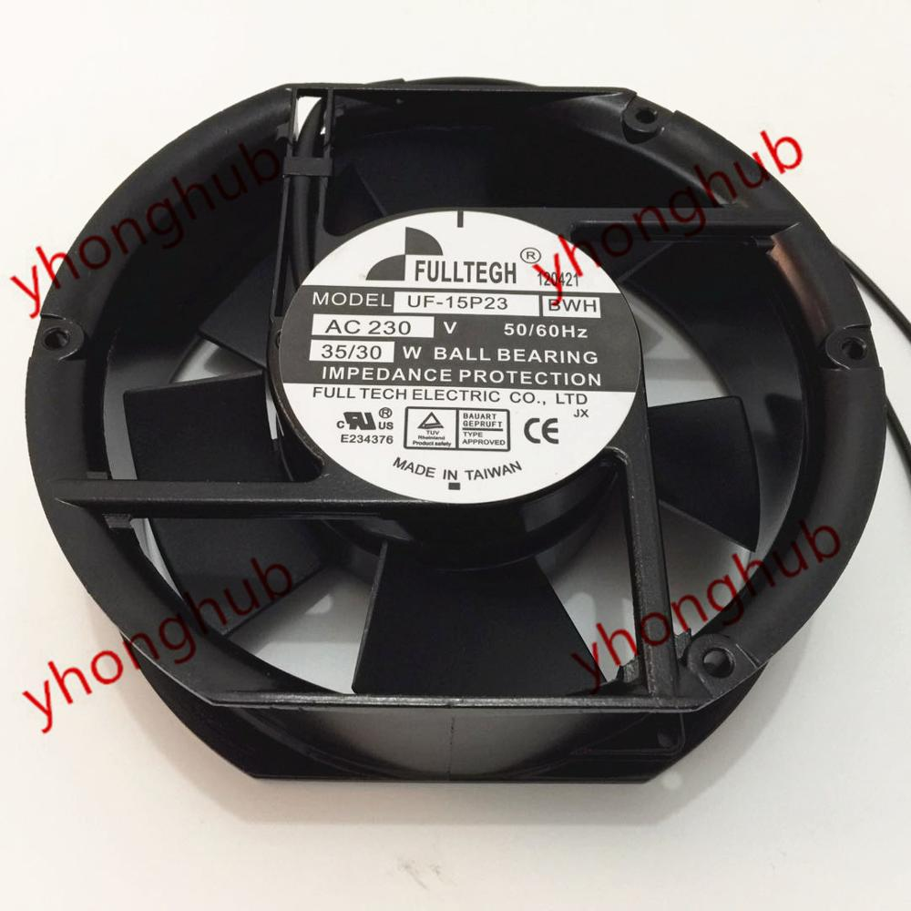 Emacro For FULLTECH UF-15P23 BWH DC 220V 35/30W 172x150x50mm 2-wire Server Round FanEmacro For FULLTECH UF-15P23 BWH DC 220V 35/30W 172x150x50mm 2-wire Server Round Fan