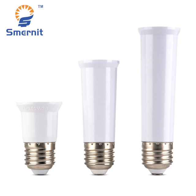 E27 To Lengthen Lamp Holder Converter Led Light Base Extender Socket