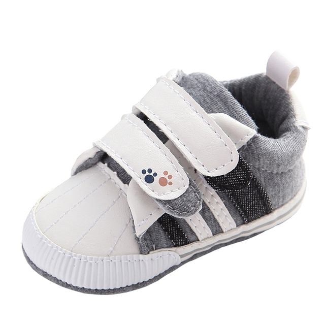 1e46b71f5ef76 Brand Baby Boys Shoes Girls Baby Moccasins Hook Loop PU Leather Infant  Toddler Winter Sneakers Soft Sole Loafers for Kids Gifts-in First Walkers  from ...