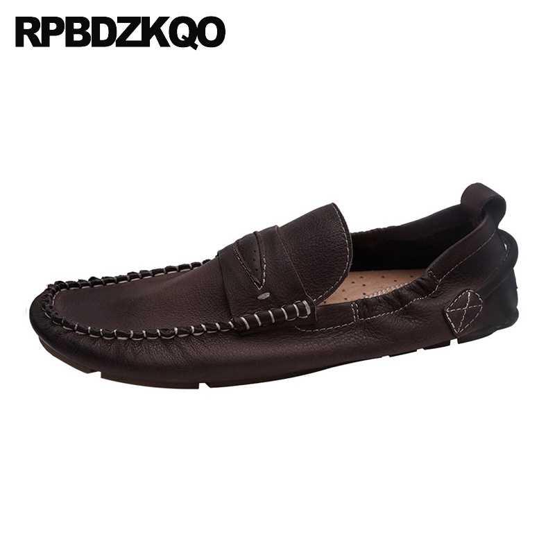 Слипоны для вождения; итальянские мокасины для выпускного вечера; брендовая модельная мужская обувь; повседневная кожаная обувь из натуральной кожи для подиума; туфли с ремешком из натуральной итальянской резины; 2019