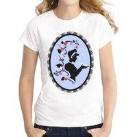 2016 Glass Slipper Design Women Summer T Shirt Cinderella Princess Printed Tee Short Sleeve Casual Lady