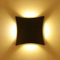 Illumination Exterior Aluminum Outdoor Lighting Wall Sconce Led Garden Lamp 100 240v Warm Cool White Arandela
