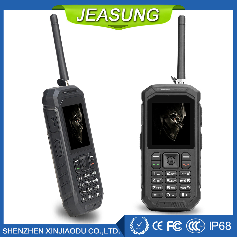 Jeasung X6 Best Multi functional Outdoor Rugged Phone with Walkie Talkie Function PTT Power Bank Function