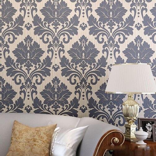 Beige marr n gris con textura papel pintado del for Papel pintado salon marron
