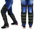 Motorcycle Knee Protector Cycling Guard Moto Protective Kneepad Keep Warm Winter PU Leather