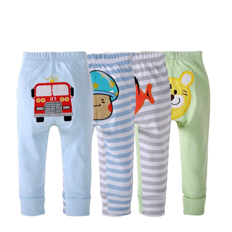 pp pants baby trousers kid wear 4pieces a lot busha boys girls clothes pants drop shipping FREE SHIPPINGFTLL0006
