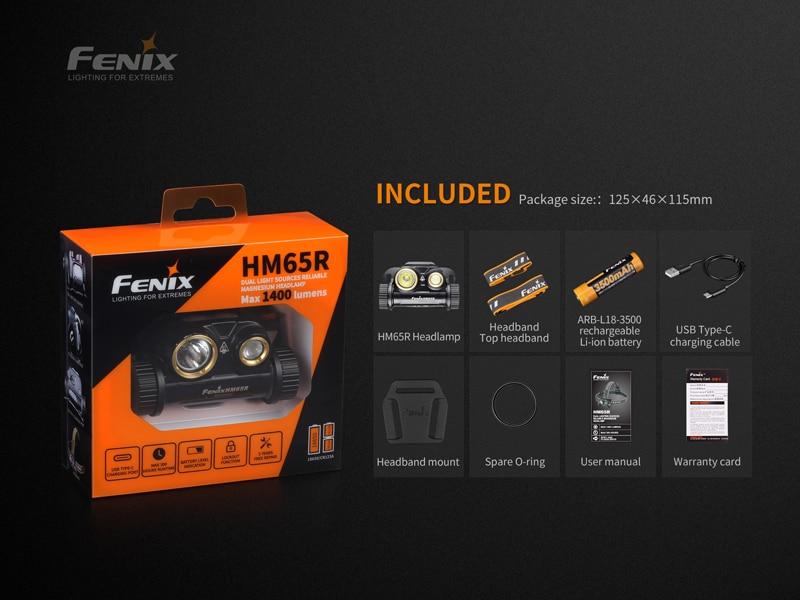 Fenix HM65R 1400 Lumens Headlamp (19)