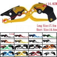 Short&Long For Suzuki GSXR600 GSXR750 2004 2005 GSXR 600 750 K4 Motorcycle Adjustable CNC Brake Clutch Levers