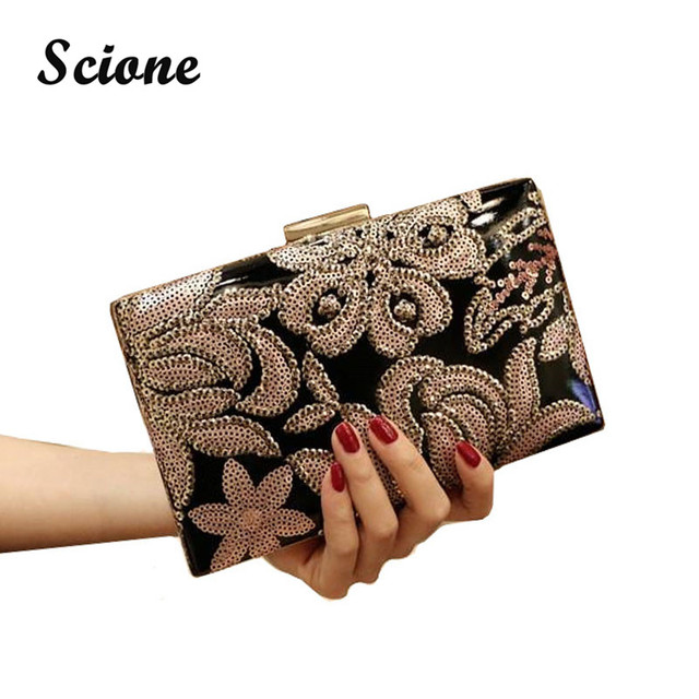 2017 top quality fashion women embroidery evening clutch bag vintage style Bride clutch wallet for ladies drop shipping MR53