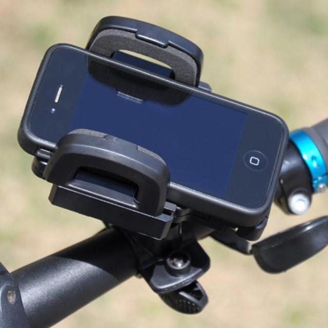 Sostenedor del soporte de 360 grados de rotación Universal de teléfono móvil de la bicicleta de montaña bicicleta de navegación stent Stander para el iphone Samsung