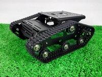 Tr300p бак 2WD шасси Металл гусеничный салона автомобиля Wall E робот База препятствиями