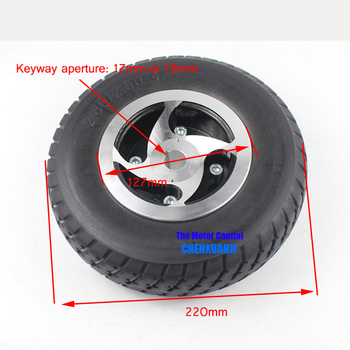 High quality 2.80/2.50-4 tire solid wheel 9 Inch for Electric Scooter Trolley Trailer and Wheelchai Hand Truck / Utility Cart