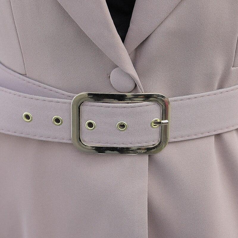 3074c3fc147a QBK DPU marchi di abbigliamento di affari sottile ufficio OL donne vestiti  giacca set 2017 nuovo arrivo Nero di affari si adatta a tutti i 3 pezzo in  QBK ...