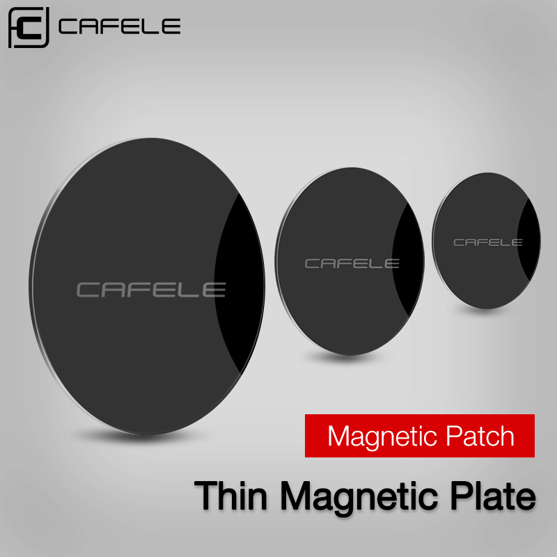 Cafele Metal Plate For Car Phone Holder Magnetic Disk Phone Stand Iron Sheet Magnet Steel Plate Sticker For Phone Adhesive Stick