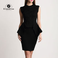 Runway Skirt Suits 2017 Sleeveless Top And Mini Dress 2 Piece Set Women Luxury Black Sets