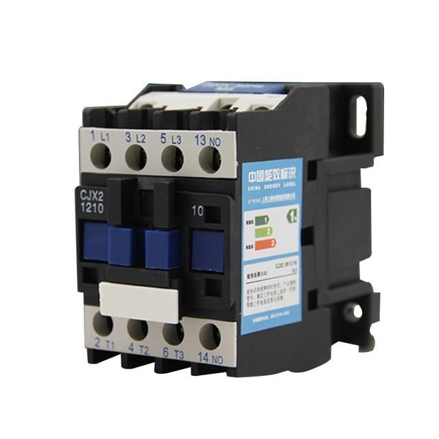 AC Contactor for Motor Starter Relay CJX2 1210 AC Contactor 12A ...