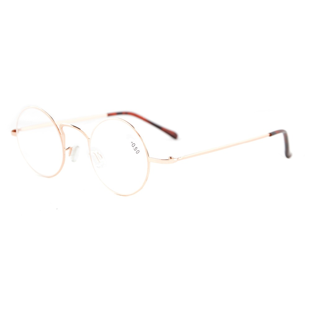 R15025 Eyekepper-lezers Lichtgewicht ronde metalen leesbril + 0.0 / - Kledingaccessoires - Foto 2