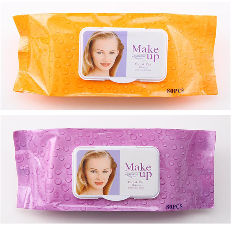 80 sheet/ Bags No Flavor Wipes Wet Wipes Beauty Moisturizing Cleansing Wipes Contenitore Per Salviette Wet Wipes Women
