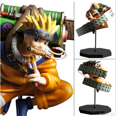 ФОТО 23cm Naruto Uzumaki Naruto Action Figures Anime PVC brinquedos Collection Figures toys AnnO00627N