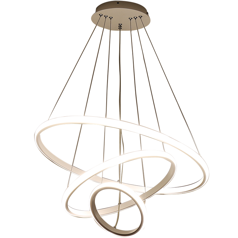 Verllas Modern Led Chandeliers For Dining Kitchen Room Aluminum White Hanging Chandelier Lighthing Circle Ring Modern ChandelierVerllas Modern Led Chandeliers For Dining Kitchen Room Aluminum White Hanging Chandelier Lighthing Circle Ring Modern Chandelier