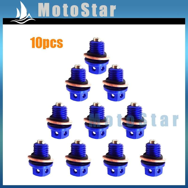 Blue CNC Engine Oil Dipstick 50cc 90cc 110cc 125cc 150cc 160cc Pit Dirt Bike SSR