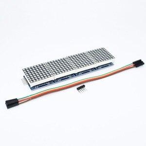 Image 2 - 10 個MAX7219 ドットマトリックスモジュールマイクロコントローラ 4 1 ディスプレイと 5 5pライン 4 1 で