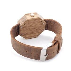 Image 4 - BOBO BIRD ماركة الساعات النساء اليابان حركة زيبرا الخشب ساعة كوارتز فاخرة الخشب السيدات ساعة Relogio Masculino هدية صندوق C D02