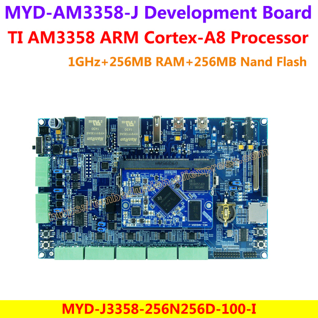 TI AM3358 Development Board MYD-AM3358-J Development Board MYD-J3358-256N256D-100-I Board(1GHz,256MB DDR3 RAM,256MB Nand Flash)