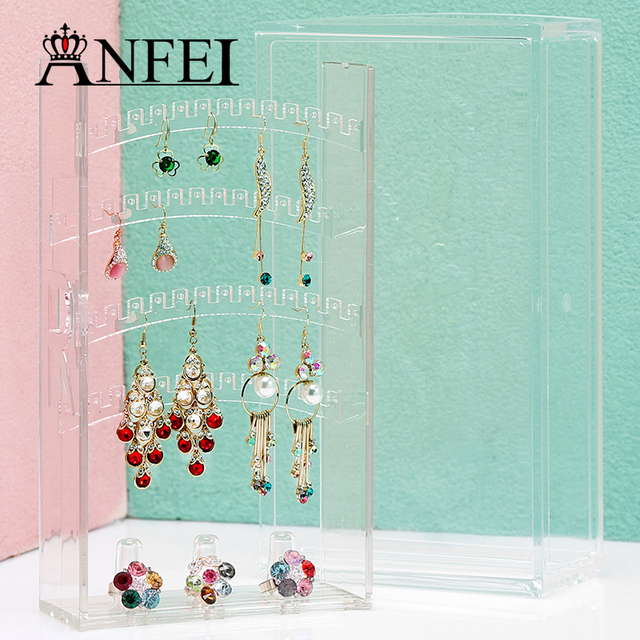 ANFEI 2017 New Arrival Jewelry Display Jewelry Organizer Earring