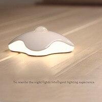 Inteligentny Czujnik Ruchu PIR Ludzkiego Ciała Four Leaf Clover Kształt LED Light Night Nowość Gabinetu Closet Wc Kinkiety Domu wystrój