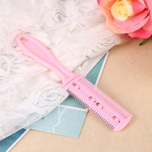 3 Colors Professional Trimmer Comb Dual Side Cutting Thinning Slim Haircuts Blades Comb Beauty Home DIY Cut Tools For Baby Care
