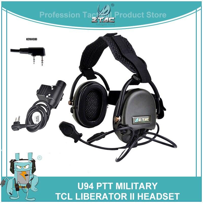 z tac militar tatico tci liberador ii neckband tiro fones de ouvido com softair u94 ken