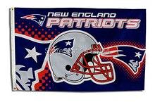 New England Patriots  Helmet  logo Flag  150X90CM Banner 100D Polyester3x5 FT flag brass grommets 001, free shipping