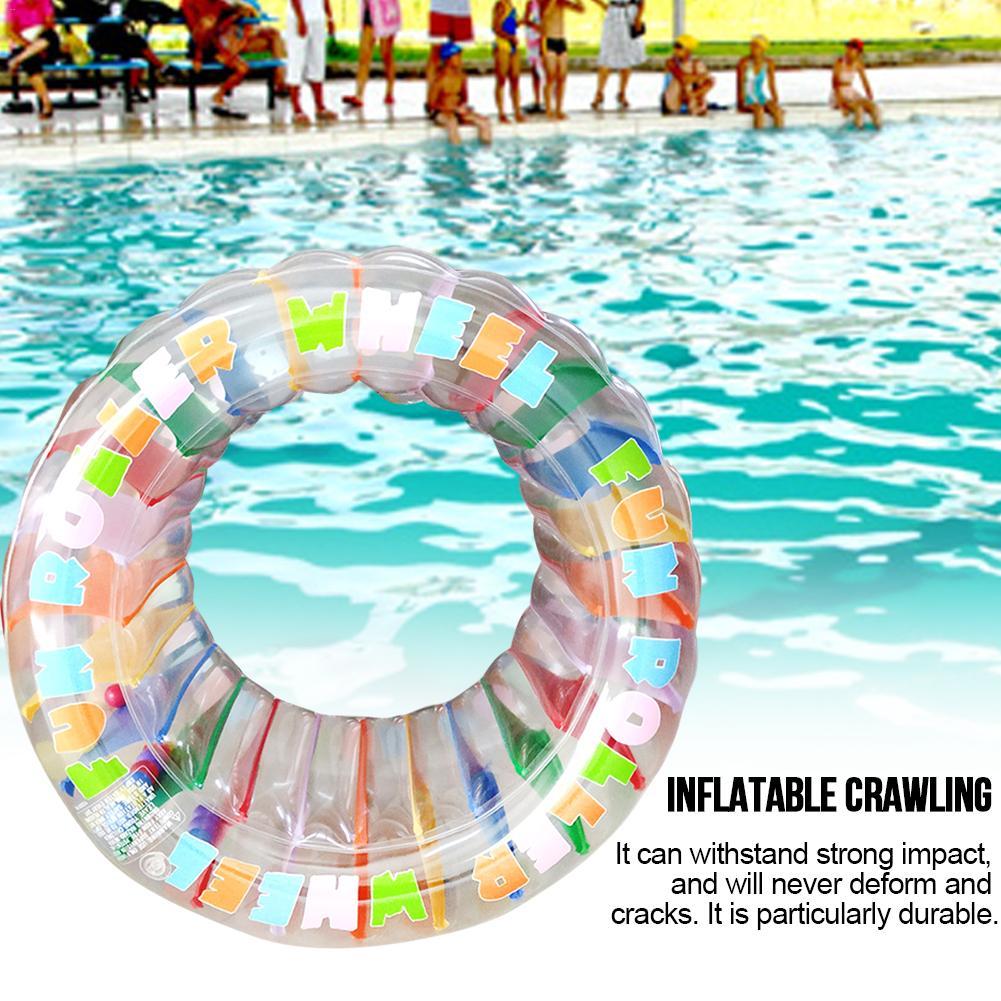 Jouet gonflable de Sports nautiques de roue cylindre rampant multifonctionnel de Puzzle pour des enfants enfants nagent des jouets de piscine