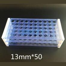 13/16/18 мм Диаметр 50/50/40 отверстия Пластик Double Deck Тесты трубки стойки