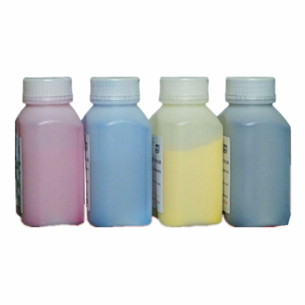 4 x 40g Refill Laser Color Toner Powder Kits For <font><b>Xerox</b></font> Phaser 6600 6110 6110MFP 6250 6125 6125N 6130 6130N <font><b>6140</b></font> Printer image