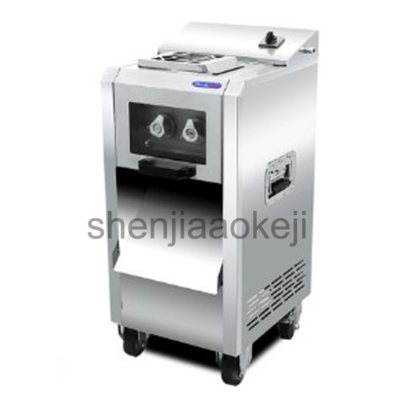 commercial Stainless steel meat slicer electric shredder slicer Automatic multi-function vegetable meat cutting machine 220kg/h itop 10 blade premium meat slicer electric deli cutter home kitchen heavy duty commercial semi automatic meat cutting machine