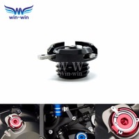 Siyah cnc motosiklet parçaları motor yağ filtresi kapağı cap ducati multistrada 1200 honda cbr600f4i cbr1000rr repsol edition